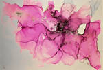 Abstract Alcohol Ink #2