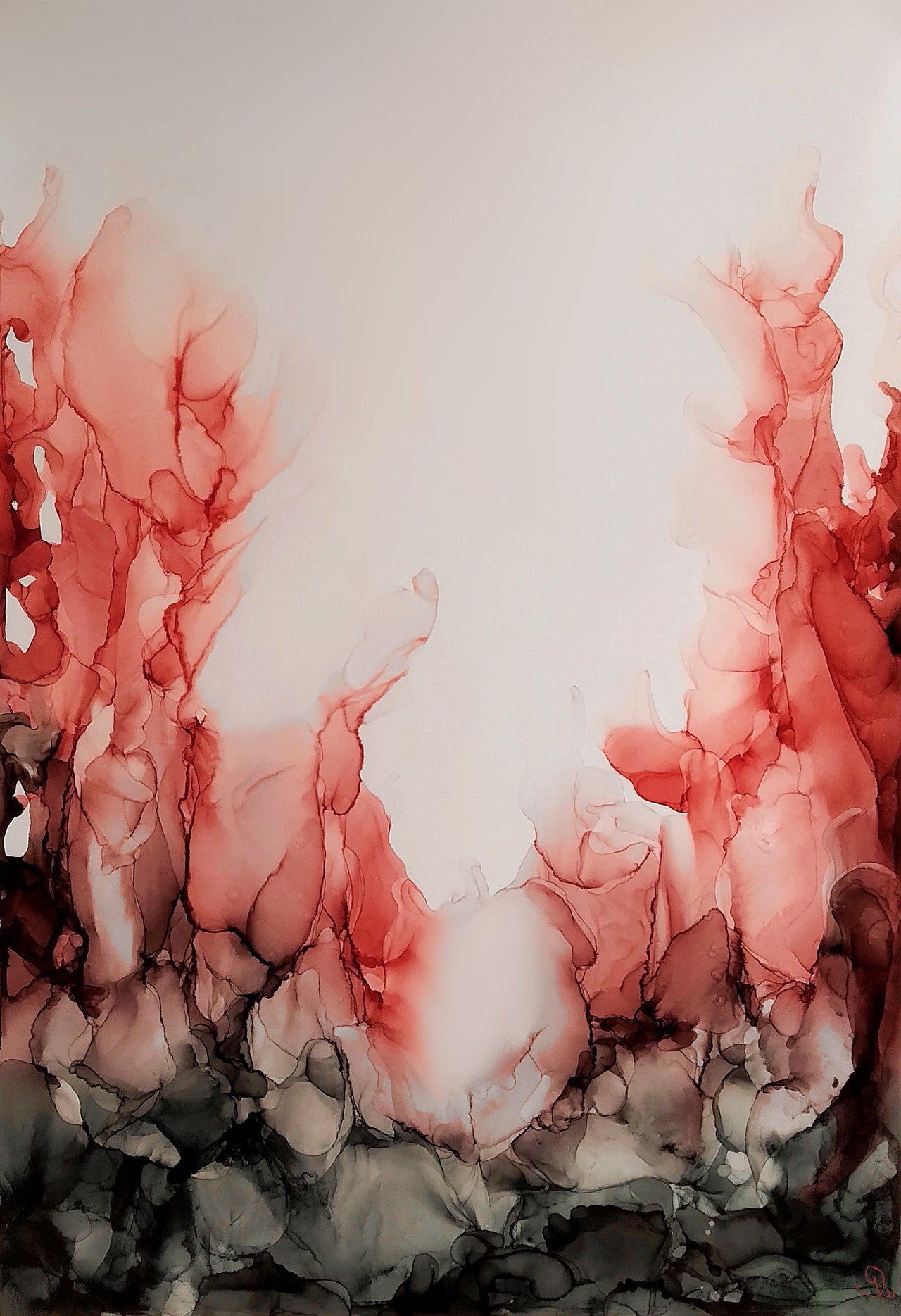 Abstract Alcohol Ink #3