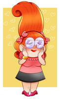 that one lady from superjail by cyclopsette