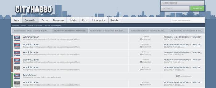 CityHabbo Forum