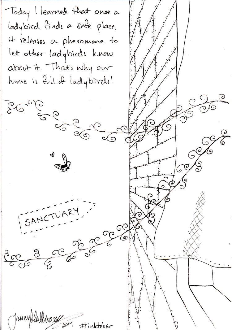 Ladybird Sanctuary by jenniology