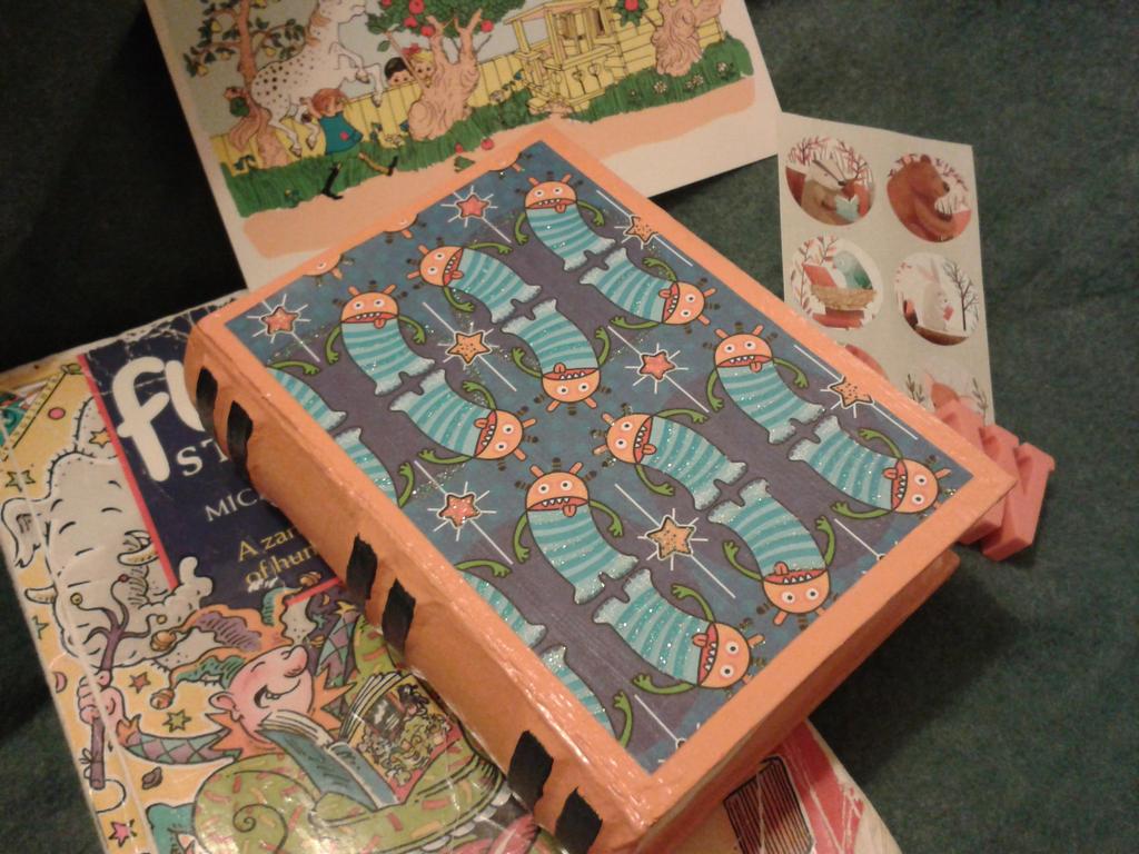 Book Box Post Pals 2 by jenniology
