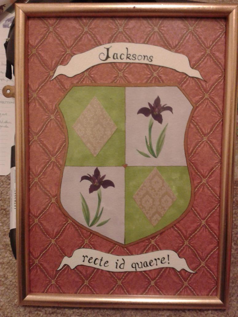 Jacksons Family Crest by jenniology