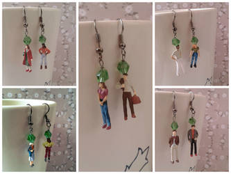 The Sims Earrings by jenniology