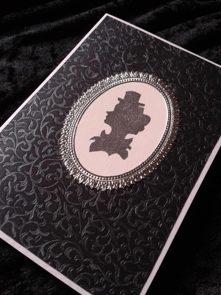 Steampunk Card - Ms. Octavia by jenniology