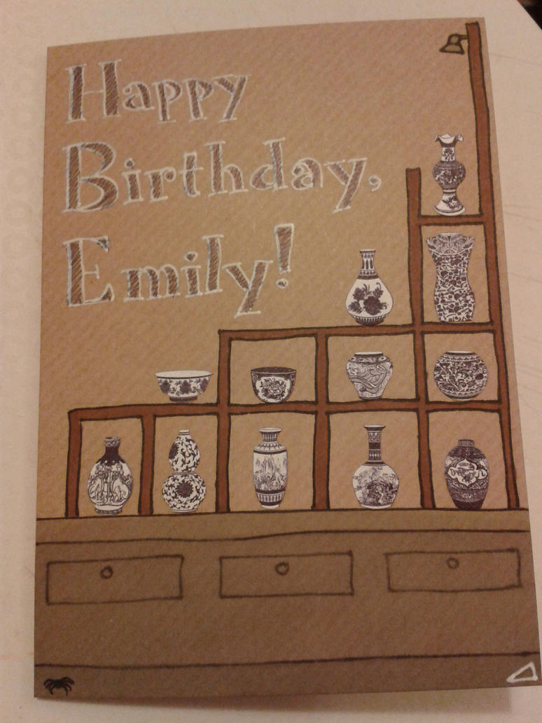 Card for Emily by jenniology