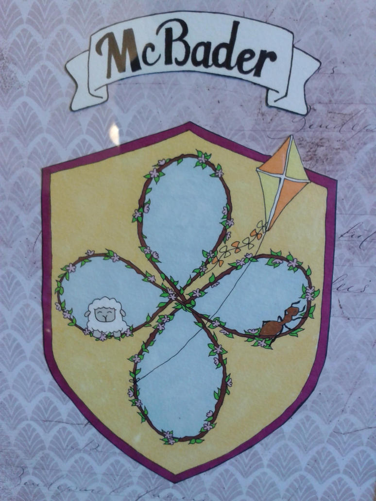 McBader Coat of Arms by jenniology
