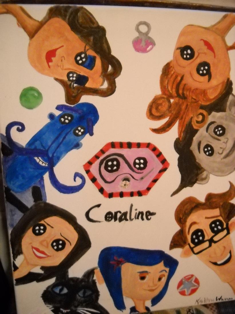 Coraline Cast By Israeliprincess22 On Deviantart