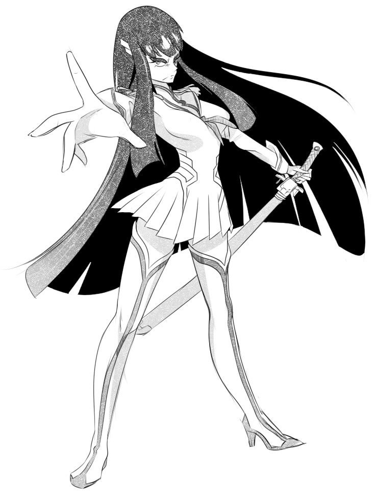 [sketch dailies] LADY SATSUKI by MikeSouthmoor