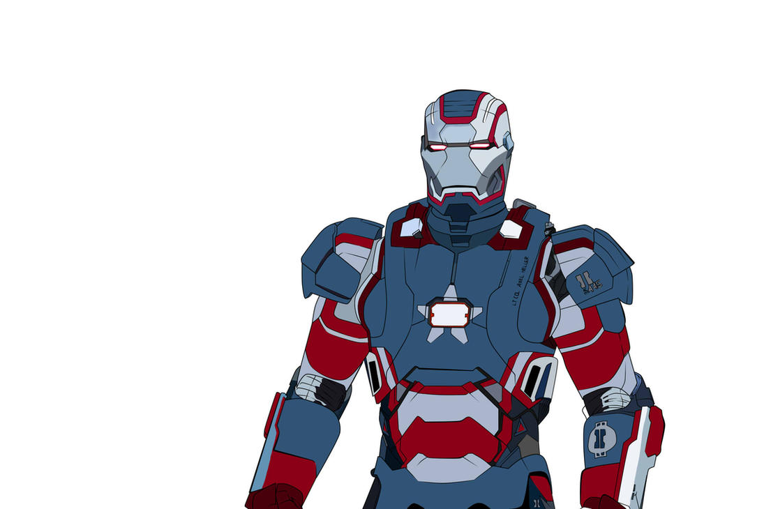 iron patriot color by thestarki on deviantart