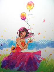 princess of rainbows by cupcake-wish
