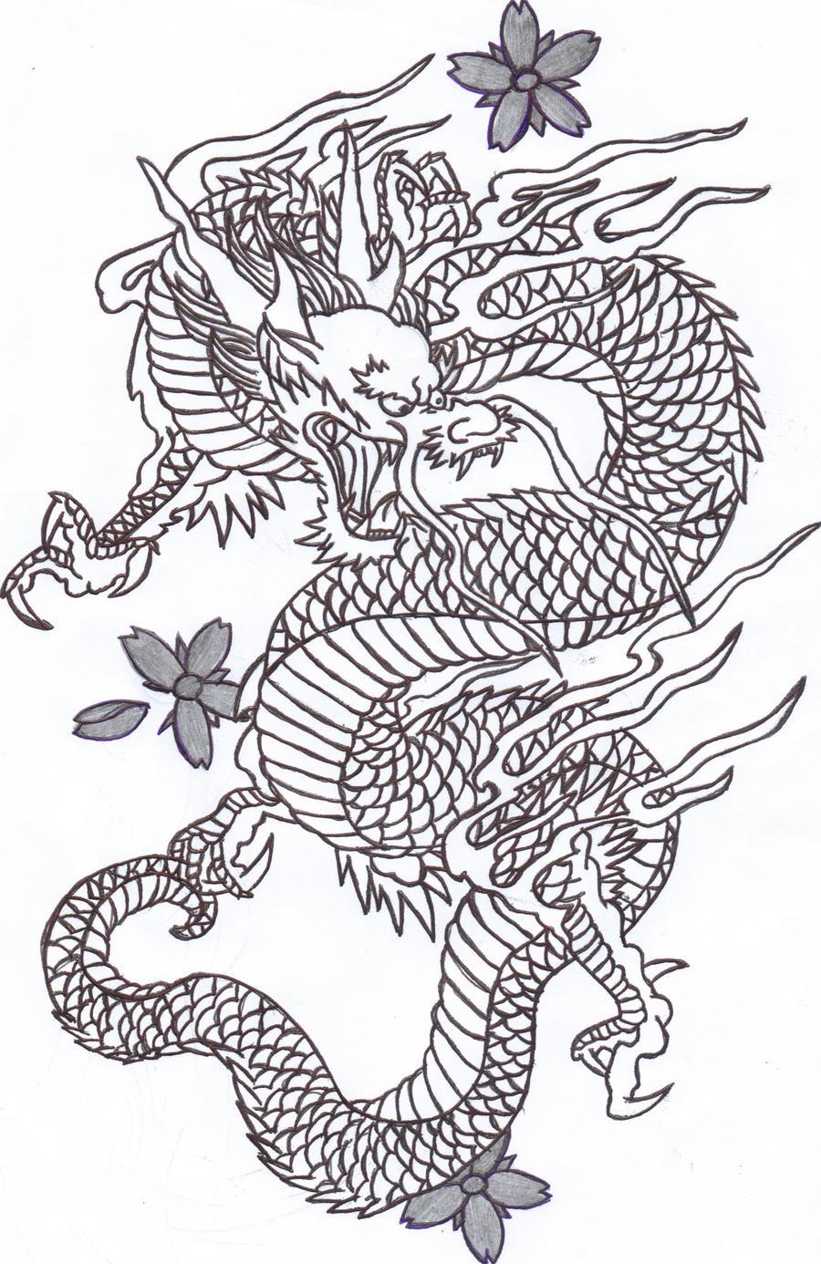 Chinese Dragon 2 By Sunshine vamp On DeviantArt