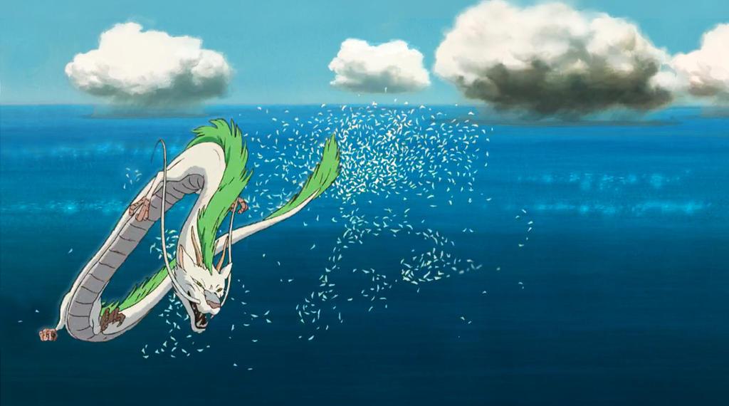 Spirited Away Haku Wallpaper By Derkna