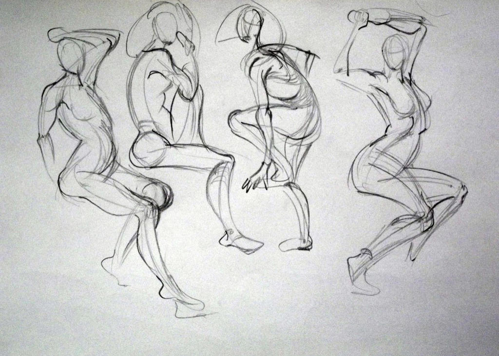 Gesture drawings 03 2016 by ComporreWhich
