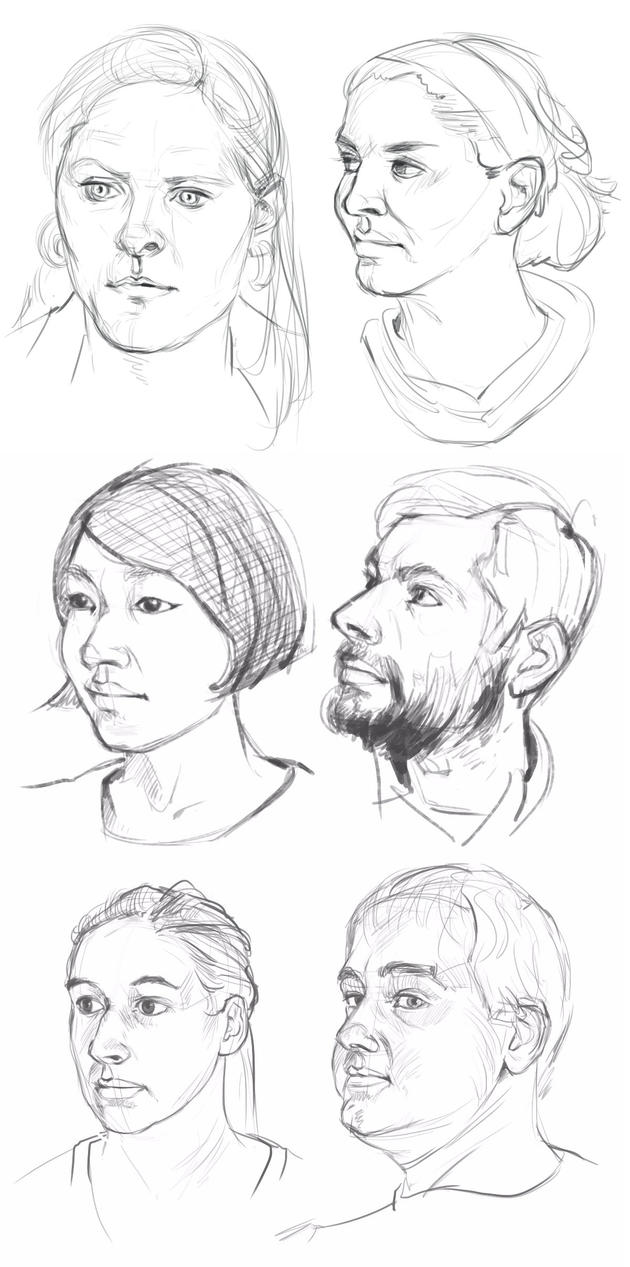 Quick portraits 2017 by ComporreWhich