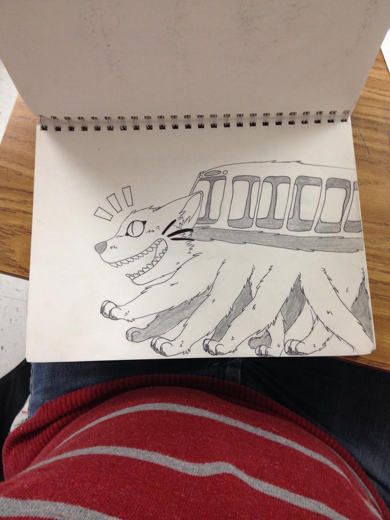 Ghibli Bus by cristian1200n