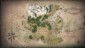 Minecraft RPG World Map