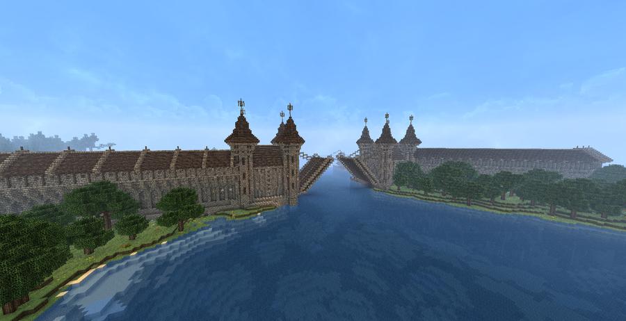 Minecraft Drawbridge Gallery