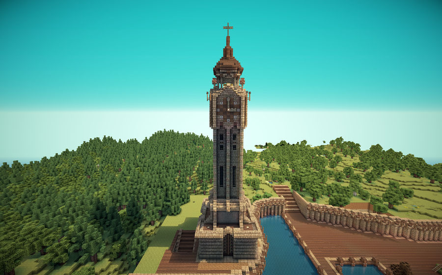 Minecraft Old English Clock Tower By Lil Lintu On Deviantart