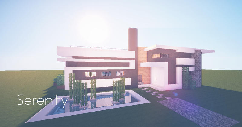 Simplistic Modern Holiday Home By Lil Lintu On Deviantart