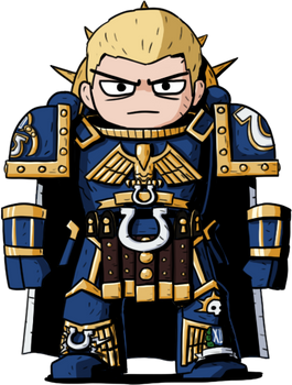 Roboute Guilliman of the Ultramarines