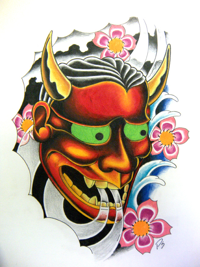 hannya mask by paulschulz on deviantart. Black Bedroom Furniture Sets. Home Design Ideas