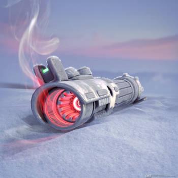Frozen Lightsaber