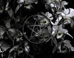 wiccan background by garnet-moon