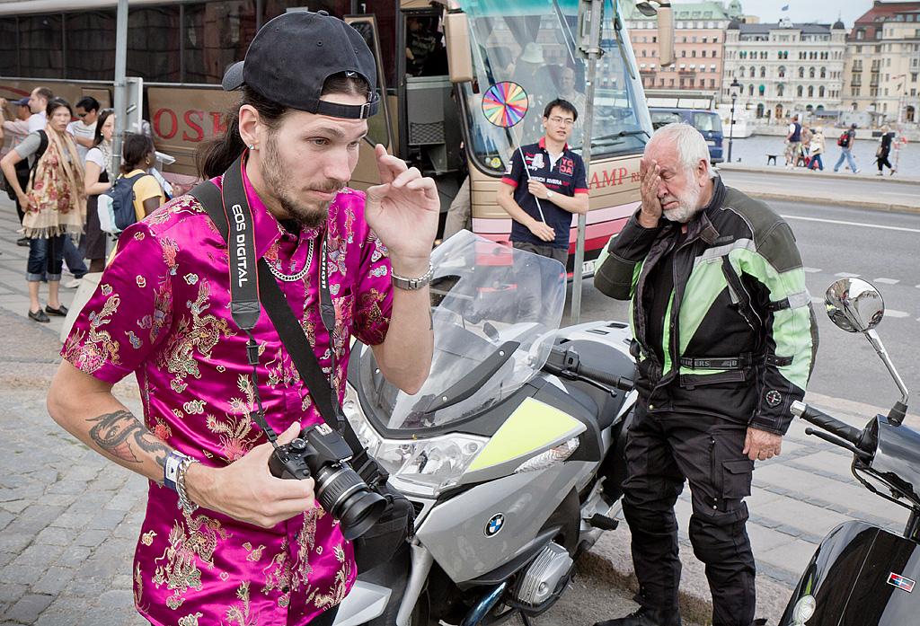 The street photographer by sandas04