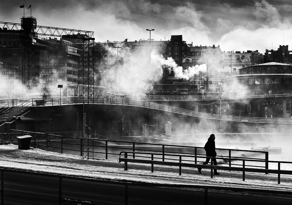 Walking in Winter Smoke by sandas04