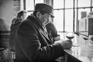 A glas of wine by sandas04