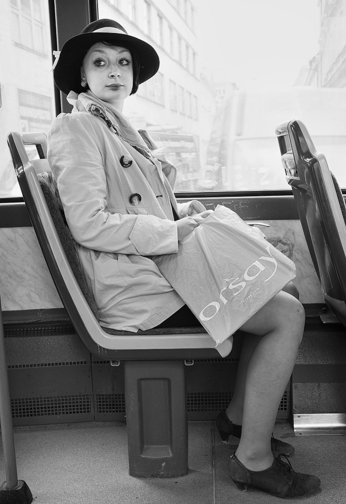 The Girl in the Tram by sandas04