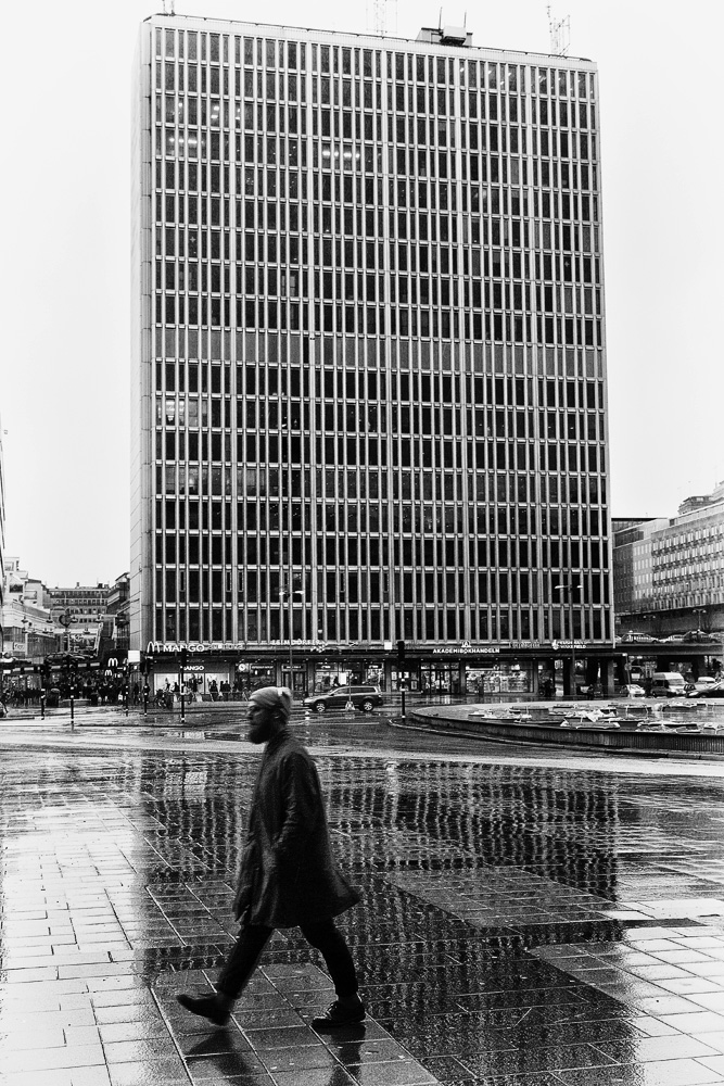 Man and Building by sandas04