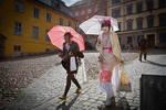 Shining Umbrellas