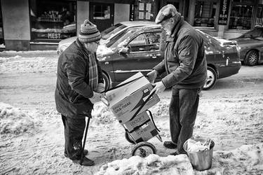 Snow Transport by sandas04