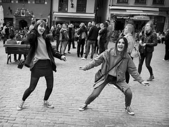 Happy Girls by sandas04