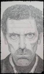 Hugh Laurie (Dr. House) by Paultrueman