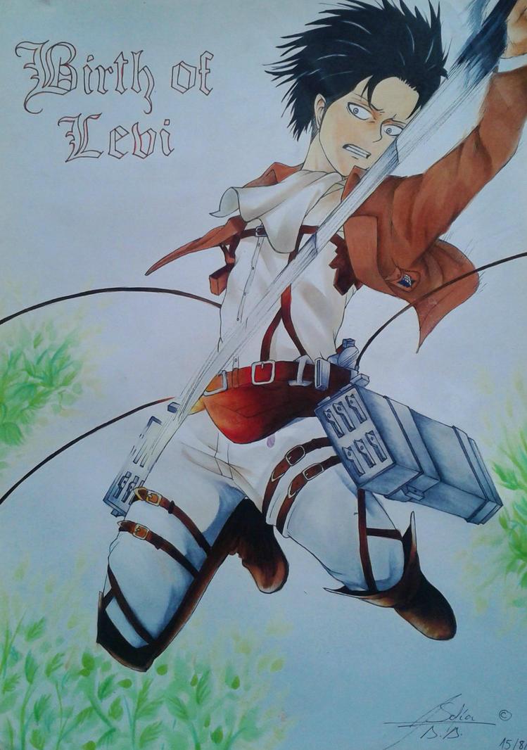 Levi - A Choice with no Regrets by MizuNoSakka