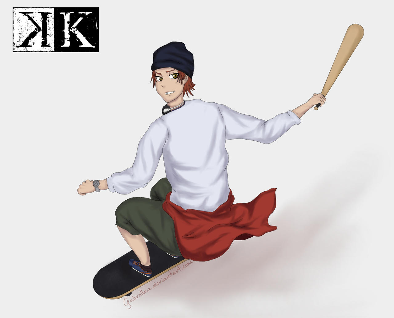 Mi-sa-ki~ by Gabrellaa