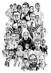 Kings of Comedy by noknowledgestudios