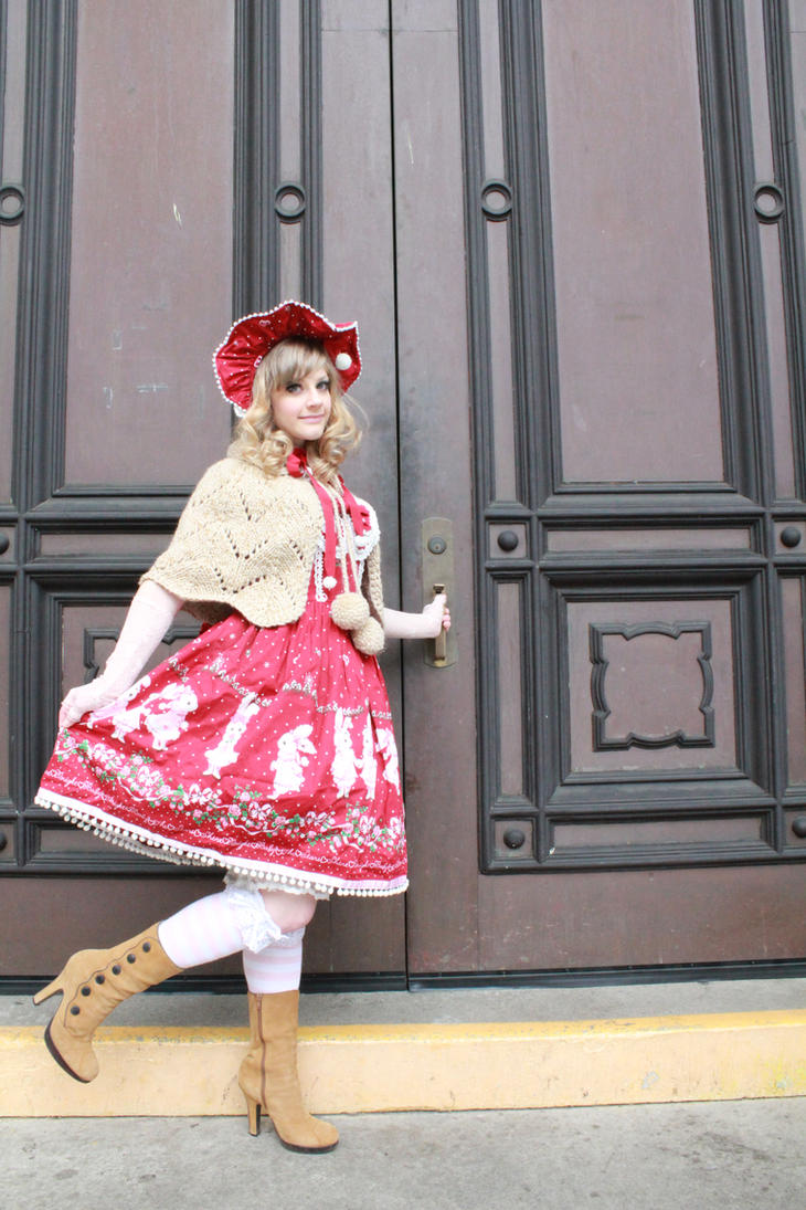 Classic Snow Bunny lolita by jobiberry