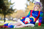 Rainbow Brite and Twink by jobiberry