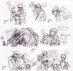 Endzone doodles