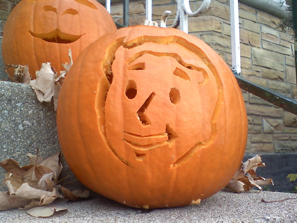 Pipboy Pumpkin by Its-Hammur-Time