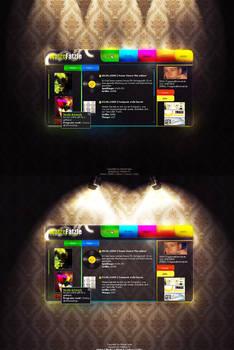 colorful portfolio :p