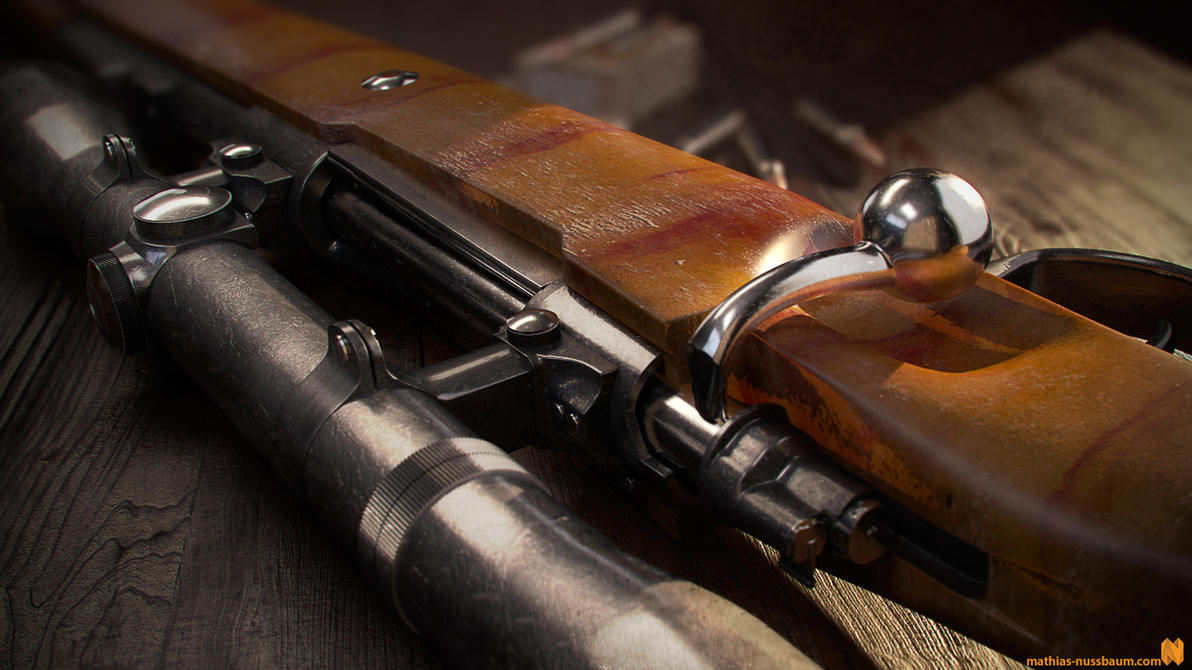 Mauser Model K98k by MatzeFatzle