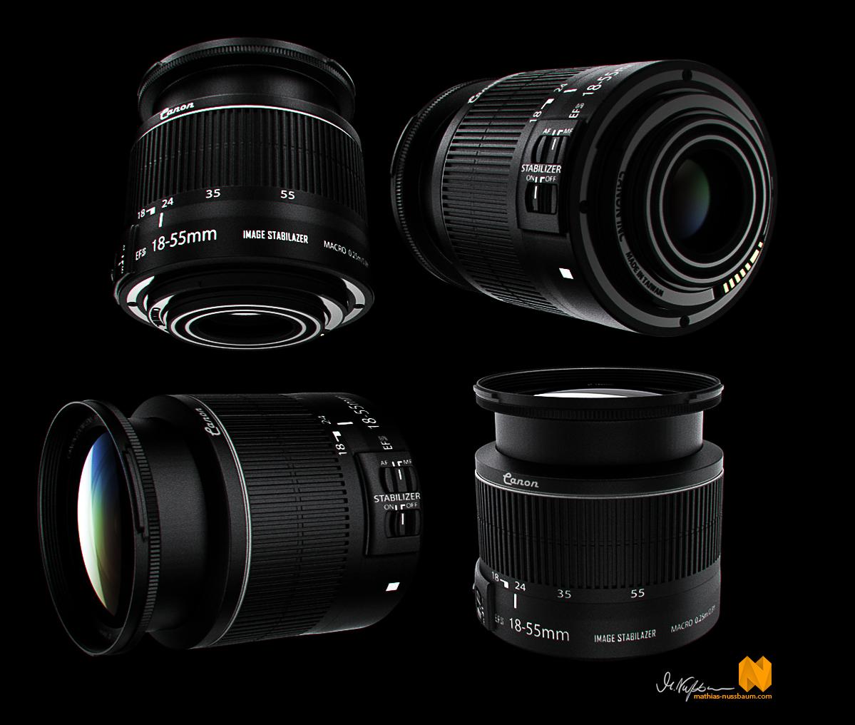 Canon EF-S 18-55mm IS II Lens