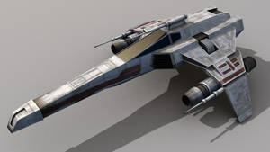E-Wing Escort Starfighter by DrKnickers