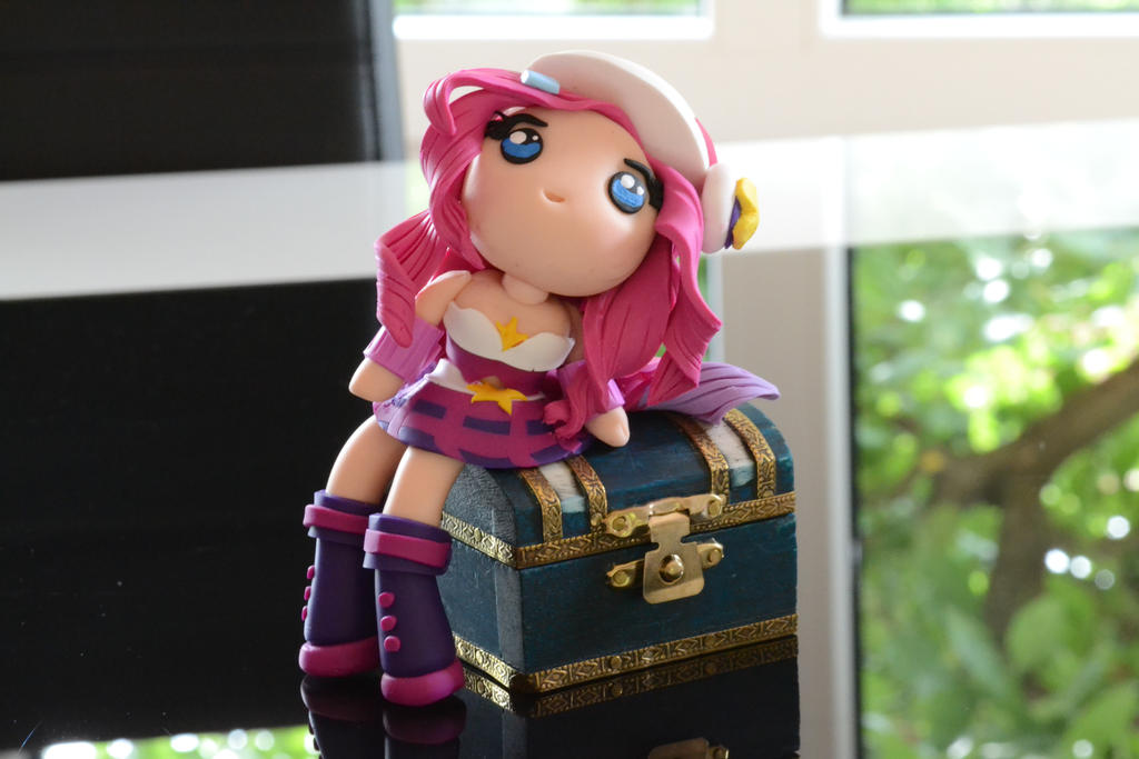 Chibi clay Arcade Miss Fortune