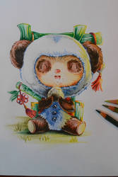 Panda Teemo by Lighane